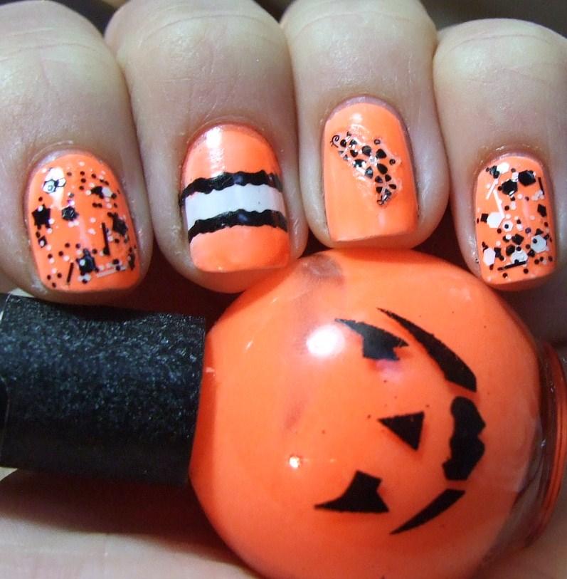 Pumpkin Glow In The Dark Nail Polish