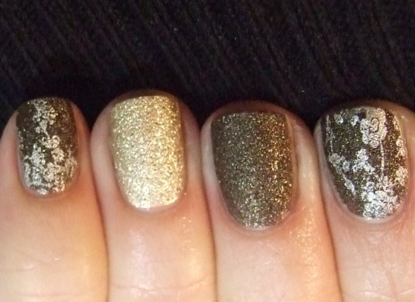 OPI textures stamped